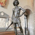 Bronze David by Verrocchio