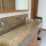 Bathrom sink area
