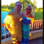 Date night on the green at Roy's Ko Olina