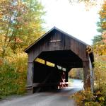 One of the covered bridges int he area