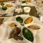 1st day dinner at the leisure farm, traditional Yilan dishes. Taste good.