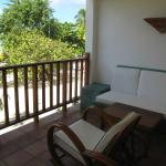 Our beachfront verandah room