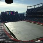 Full field view from the suites