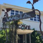 Weta Sign out Front