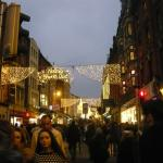 Grafton Street in the evening