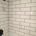 Artistic touches to shower tile
