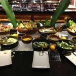 Sumptuous buffet served on theme nights