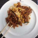 Char kway teow for breakfast