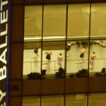 The view from our room--the Joffrey Ballet