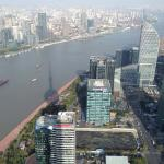 View from the top of Oriental Pearl Tower