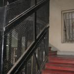 old creaky lift and stair case