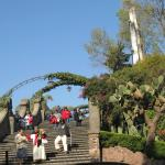 Stairs up to Cerro del Tepeyac