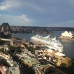 Sydney Harbour Bridge and Opera House from Quay West Suites