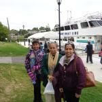 With Gananoque Boat line.. 1000 Islands Tour.
