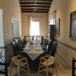 Casale Panayiotis restaurant dining room