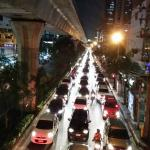 The hustle and bustle of Sukhumvit Road