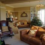Lounge at Chrsistmas
