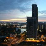View from the hotel to Kallang River
