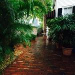 Lovely walkway looking towards Duval Street