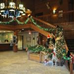 The Lobby of Starved Rock Lodge
