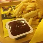 The fries were incredible - have to be with ketchup though