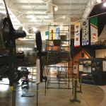 The B-17 being assembled at the Museum