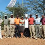 "Some of the staff with ""Safari"" Kay"