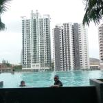 nice views from the pool