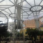 Clarke Quay awning structures