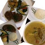Main course -  Khmer green curry, grilled pork tenderloin was my favourite! Low in fat, all lean