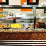 Breakfast bar at the Embassy suites December 2014