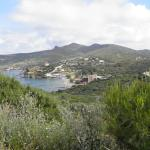 Aegeon Hotel Sounio, view from Temple of Poseidon