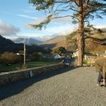Snowdonia from the hostel car park