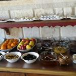 Part of the breakfast spread :)