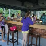 The resort social centre- the bar