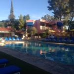 The pool - in late afternoon