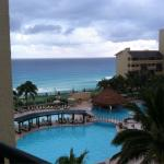 Fifth floor view at Royal Islander cancun