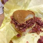 """Whadda Pastrami Sandwich!!! Delicious!! From """"The Hat"""" Monterey Park, CA"""
