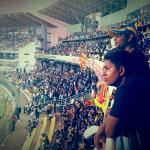 the cricket at Colombo