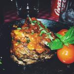 Great steak in one of the restaurant