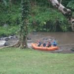 rafting visible from villa