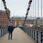 On the bridge over the Clyde - 5 minutes walk from the Inn.
