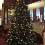 X'mas tree in the lobby
