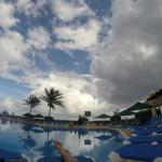 View from pool chair