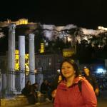Me at the centre of Athens