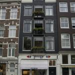 Bij Tijn op de Gracht from the street.  Guest rooms are the 2nd and 3rd floors