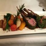 Dijon Herb Encrusted Rack of Lamb