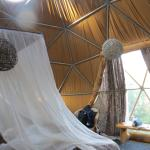 inside our dome