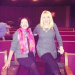 Cheryl Horlick and Irmie Eichner being The Rockettes