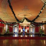 Greenbrier Resort Christmas decorations